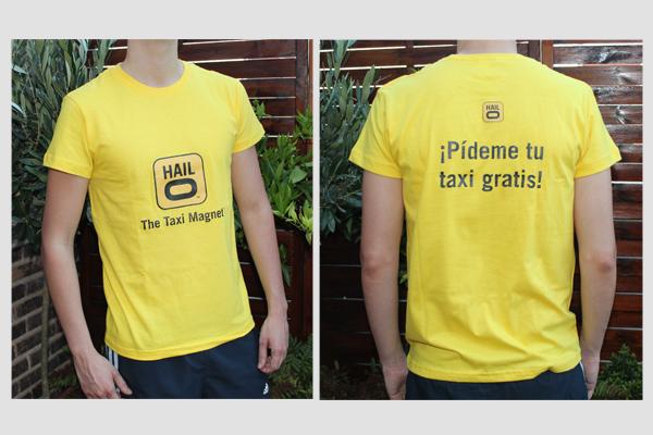 f07341d19b34e camisetas personalizadas. Camisetas personalizadas para Hailo Madrid