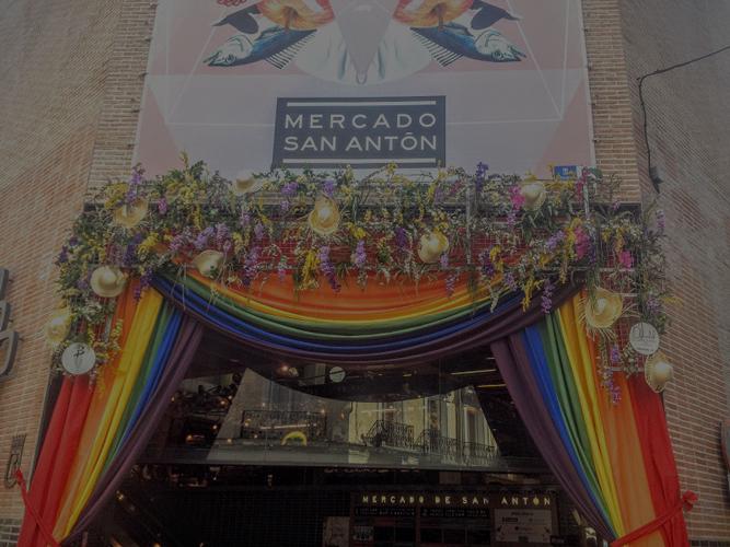 Explosión de color y orgullo en Madrid