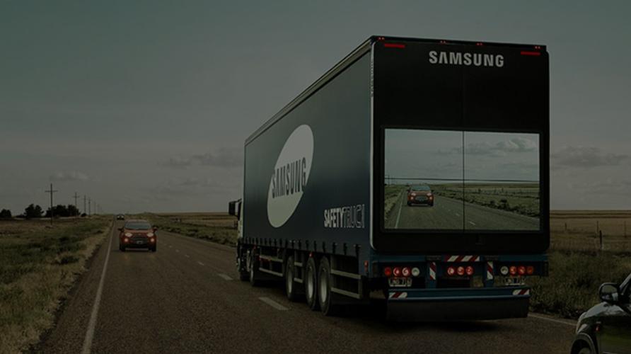 Llegan los safety trucks, el último invento de Samsung