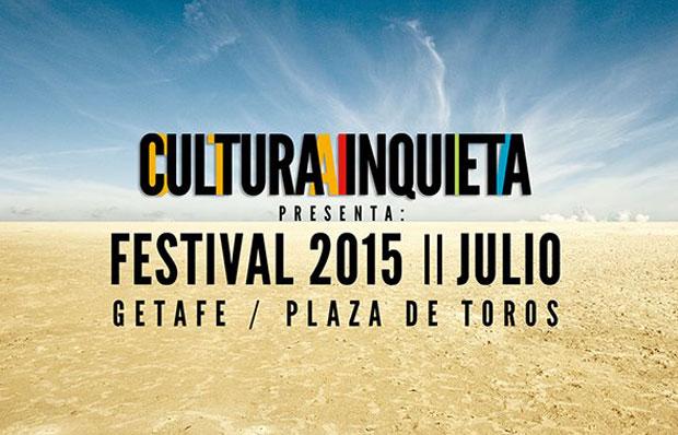Cartel del festival de 2015, Cultura Inquieta.