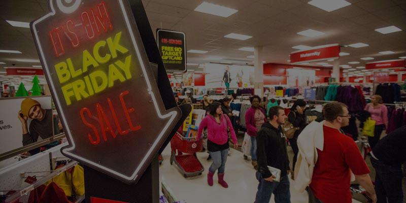 Las tiendas lo dan todo en el Black Friday!