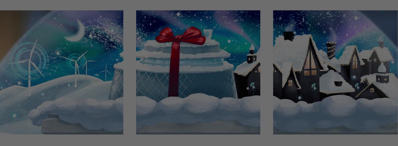 La aventura navideña de General Electric en Instagram