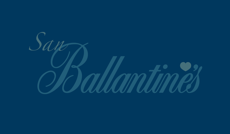 All you need is San Ballantine's, la alternativa secreta a San Valentín