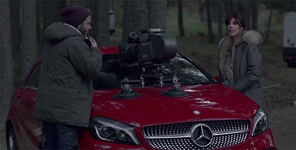 Combinación explosiva de dos nombres de mujer: Maribel Verdú para Mercedes-Benz