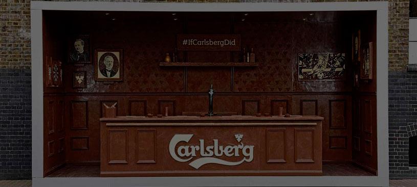 Carlsberg (sí, los de la cerveza) se monta un bar de chocolate en Londres