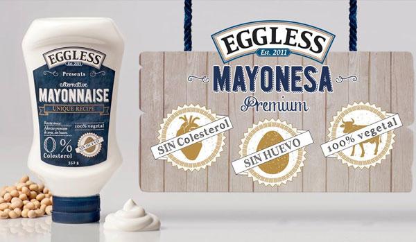 Una mayonesa sin huevo y con la mitad de calorías