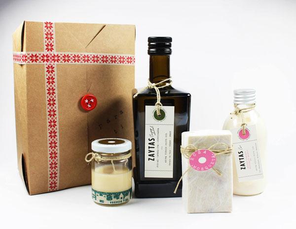 Cosmética a base de aceite de oliva apta para veganos