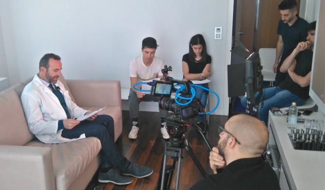 Grabación del nuevo vídeo de la FEAD en el Hotel ME