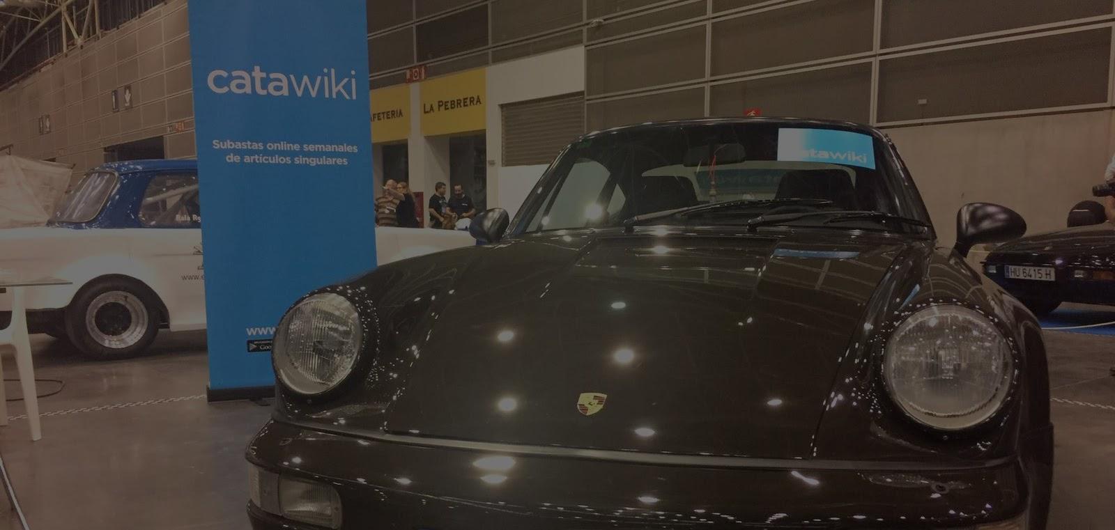 Catawiki luce material corporativo en la feria del Automóvil Clásico