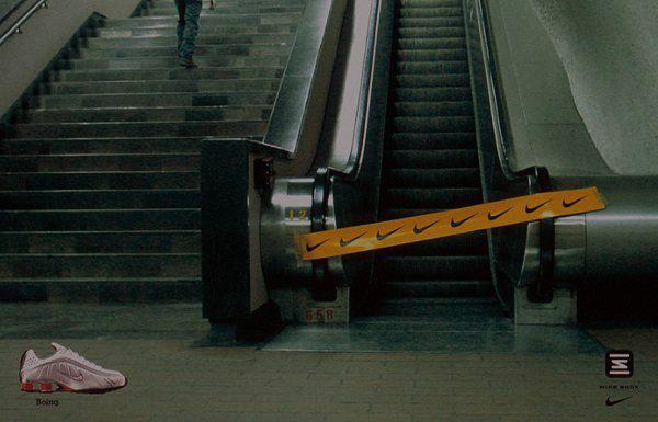 ¡Espectacular street marketing de Nike!
