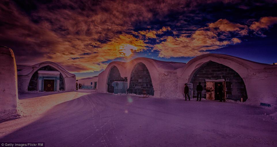 ¿Sabías que existe un hotel hecho completamente de hielo?