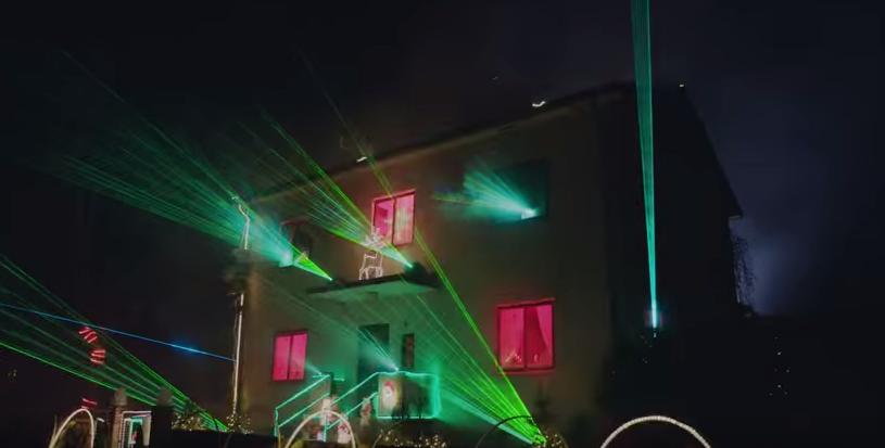 Una casa «luminosa» por Navidad
