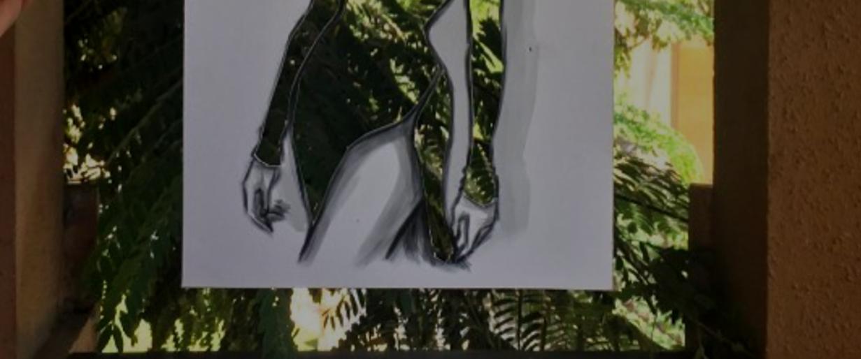 ¿Diseños únicos solo con papel y tijeras?