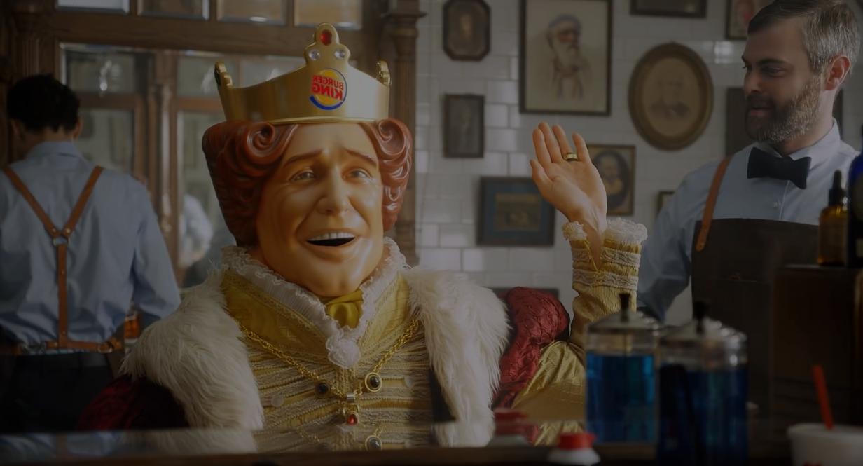 ¡El King de Burger King se afeita el bigote! ¿Sabes por qué?