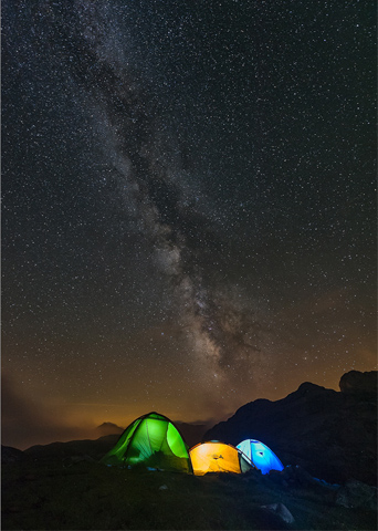 acampada libre