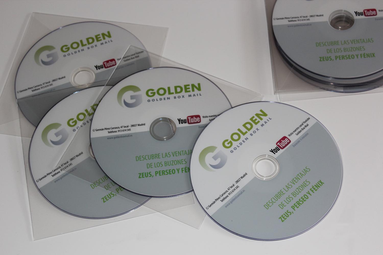 cd y dvd personalizados
