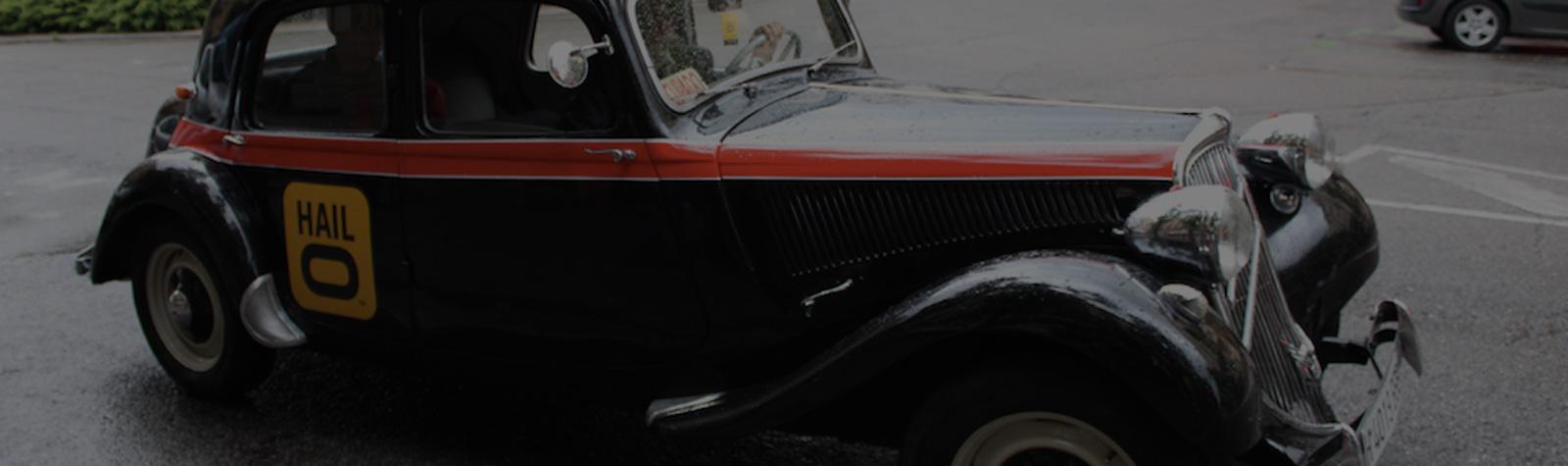 ¡El taxi del tiempo de Hailo!