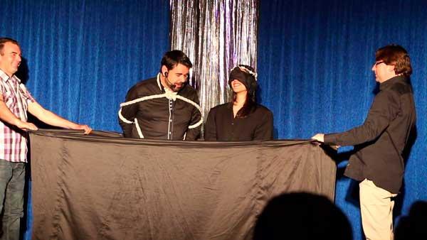 Espectáculo de magia en Enigmatium