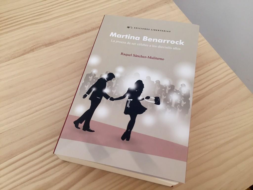 diseño editorial portada libro martina benarrock