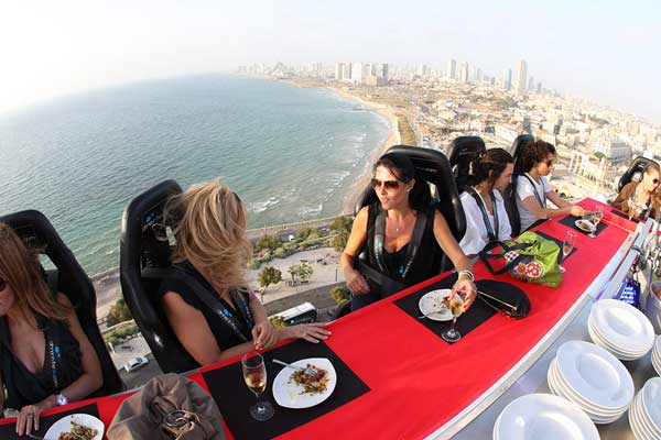 Eventos a 50 metros del suelo - Dinner in the Sky