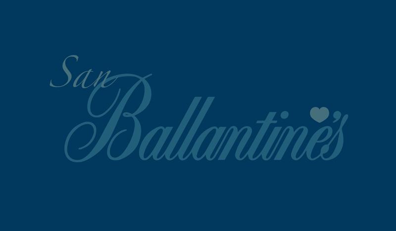 All you need is San Ballantine's, la alternativa secreta a San Valentín