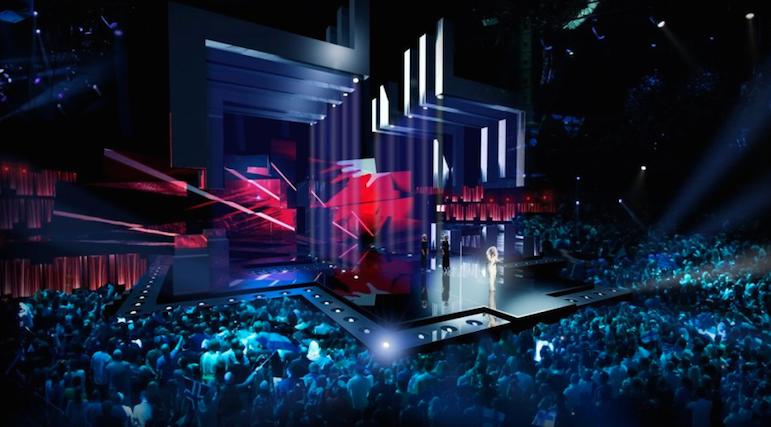Escenario de Eurovisión 2016