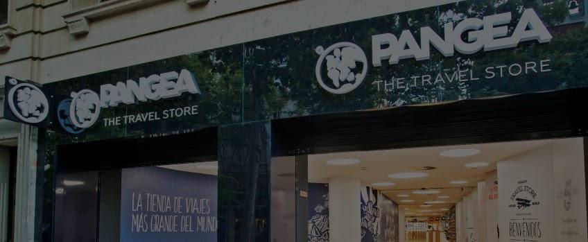 Pangea, los 5 continentes en la tienda de viajes más grande del mundo