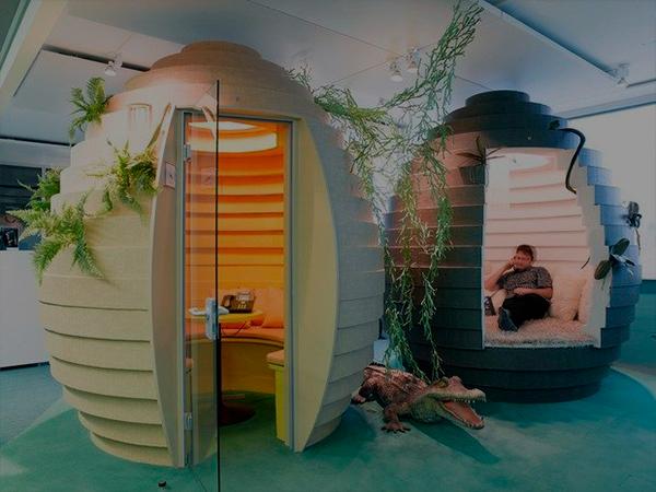 Las oficinas más inspiradoras y creativas del mundo
