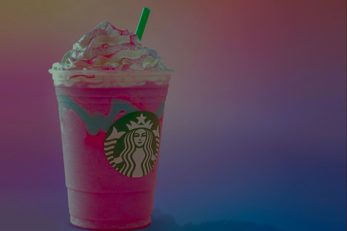 Frapuccinos de Starbucks muy marketinianos