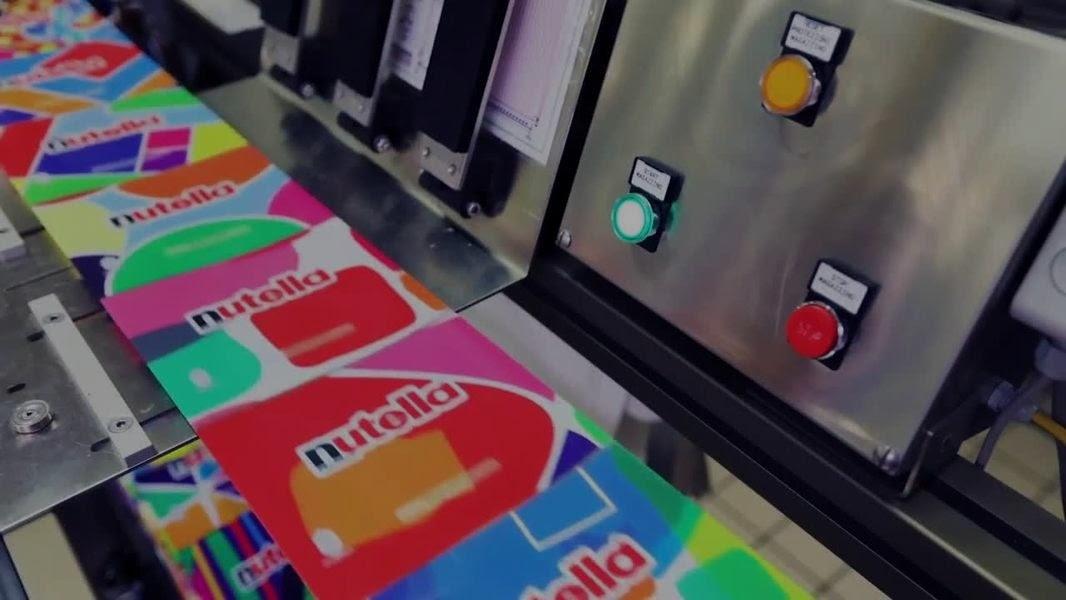 El packaging de Nutella con más de 7 millones de diseños